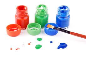 paint bottles stock photo image of ornamental bottles 6402160