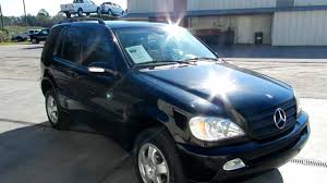 mercedes trucks for sale in usa 2002 mercedes ml320 leather loaded low for sale