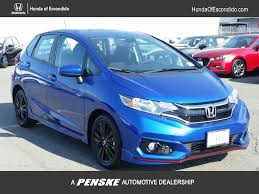 2018 new honda fit sport manual at honda of escondido serving san