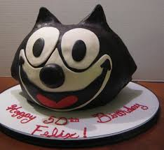 sweet t u0027s cake design felix the cat sculpted 3d birthday cake