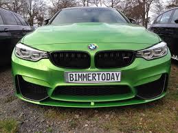 green bmw m4 bmw m4 in java grün marco wittmann zeigt dienstwagen