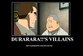 Durarara Memes - durarara s villains by 107 year old virgin on deviantart