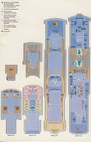 Cruise Ship Floor Plans by Norwegian Jewel Deck Plan