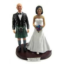 biracial wedding cake toppers black wedding cake toppers