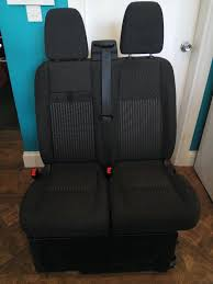 Fold Down Bench Seat Ford Transit Custom 2015 Front Double Bench Seat With Base