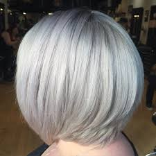 funky hairstyle for silver hair 60 gorgeous hairstyles for gray hair