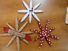 clothespin snowflake ornaments snowflake ornaments ornament and