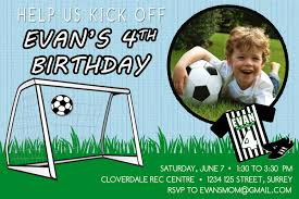 Free Invitation Birthday Cards Football Birthday Invitations U2013 Gangcraft Net