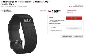 amazon fitbit charge black friday fitbit surge charge hr pre orders in canada hit amazon future
