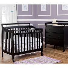 Mini Convertible Cribs 4 In 1 Mini Convertible Crib Black 310261826