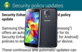 android security policy updates how to fix the samsung galaxy security policy update bug pocketnow