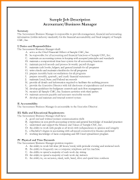 Resume Job Responsibilities Examples by 9 Job Requirements Examples Sales Resumed