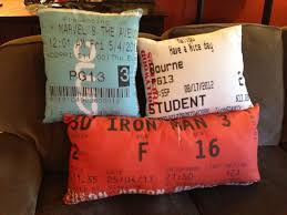 home theater pillows best 20 movie ticket stubs ideas on pinterest u2014no signup required