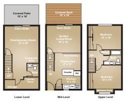 tri level house floor plans woodbrook floor plan 2 bedroom 1 5 bath