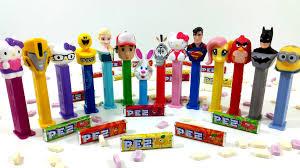 pez candy dispenser batman kitty superman transformers