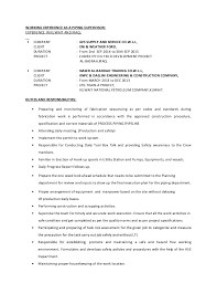 Production Supervisor Job Description For Resume by Piping Supervisor Resume