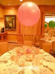 hot air balloon centerpiece balloon centerpieces my deco balloon