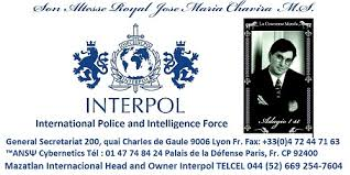 si e d interpol interpol the bosses business cards of the and owner