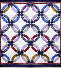 wedding ring quilt for sale quilt inspiration wedding ring quilt inspiration and free patterns