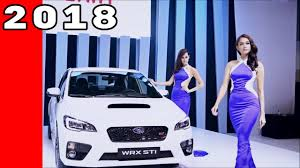 2018 subaru wrx engine 2018 subaru wrx and wrx sti youtube