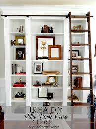 furniture high library ladder ikea in white and brown for home