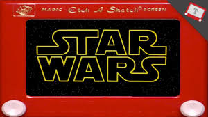 star wars recap etch a sketch version youtube