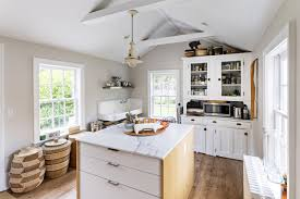 home buyers flock to shelter island wsj the couple put in a new chef s kitchen complete with a marble topped island