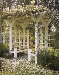 English Garden Pergola by Rose Gazebos