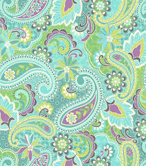 snuggle flannel fabric paisley garden teal fabric pinterest