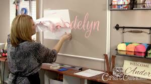 How To Paint And Stencil by How To Paint A Name On A Wall With A Vinyl Stencil Youtube