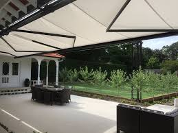 Retractable Sun Awning Fully Tracked Retractable Awnings From Aalta Screens Systems