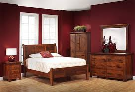 redmond wellington sleigh bed from dutchcrafters amish furniture