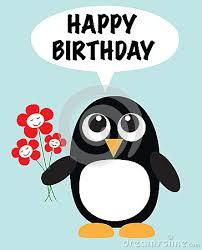 Cute Penguin Meme - happy birthday cute penguin