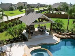 Backyard Pool Landscaping | backyard pool landscape beach style landscape houston by fox