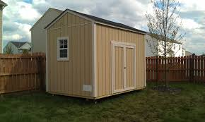 8 x 12 gable roof shed doors 12 ft side and extra window on the side