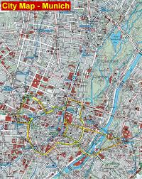 Germany City Map by Munich City Map Munich Germany U2022 Mappery