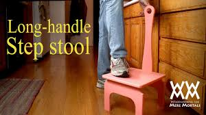 Wooden Step Stool Plans Free by This Is The Handiest Step Stool Ever Easy Woodworking Project