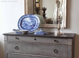 Blue And White Decorating Tone On Tone Blue And White Crush