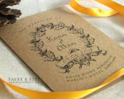 Wedding Pamphlet Template Mass Booklet Etsy