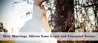 how marriage affects your legal and financial status lawdepot blog