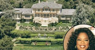 Famous Mansions Top Most Famous Celebrity Homes Oprah Winfrey Montecito Promise