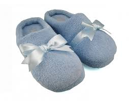 Womens Bedroom Slippers Women U0027s House Slippers Bow Light Blue Bs001 7 00
