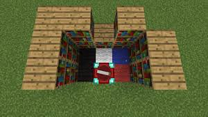 How To Build A Bookcase In Minecraft Enchantment Table Bookshelves In 1 8 Recent Updates And