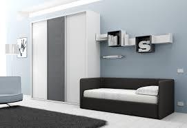 canapé de chambre chambre avec lit canapé et armoire compact so nuit