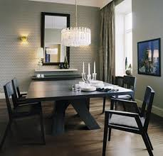 dining room crystal chandelier lighting modern rooms colorful