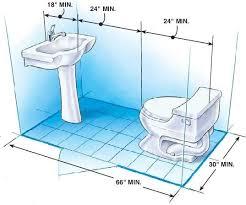 bathroom design dimensions 9 best bathroom dimensions images on bathroom ideas