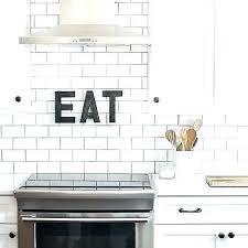 grouting kitchen backsplash white subway tile backsplash subway tile with black grout grouting