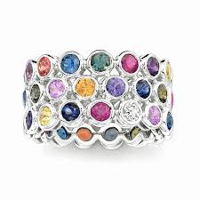 colored wedding rings images Unique wedding bands with creative details engagement rings jpg