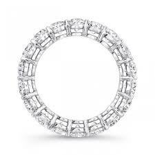 oval cut diamond uneek platinum oval cut eternity band etov500