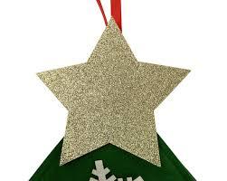 amazon com felt christmas tree for kids glitter edition 3ft